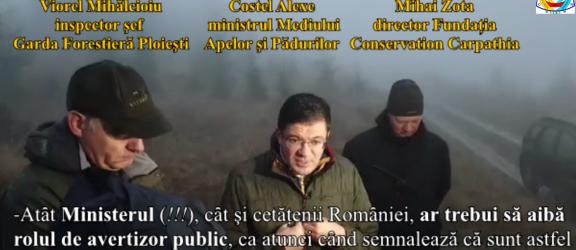 Ministrul Costel Alexe: Haos şi dezastru inimaginabil în pădurile Romȃniei!