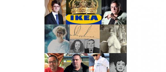 """De la """"Regele Munţilor"""" la """"Regele Asigurărilor"""" şi """"Regele Betoanelor"""". Apoi la """"Împăratul Mobilei"""" – IKEA"""