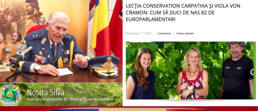 VIDEO Generalul Radu Theodoru: Munţii Făgăraş nu sunt de vânzare! | Răspuns pentru Viola von Cramon şi Conservation Carpathia